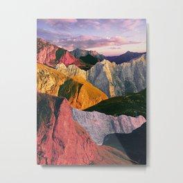 Sunkissed hills Metal Print