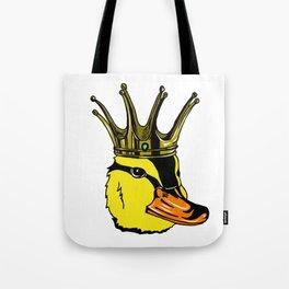 Duck King Head Tote Bag