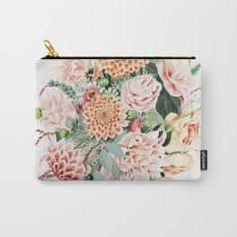 Fall Dahlia Bouquet Carry-All Pouch