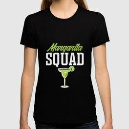 Womens Funny Margerita Squad Cinco De Mayo Fiesta Mexicana graphic T-shirt