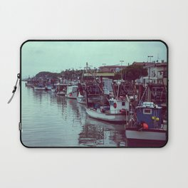 Boats in the blue lagoon Laptop Sleeve