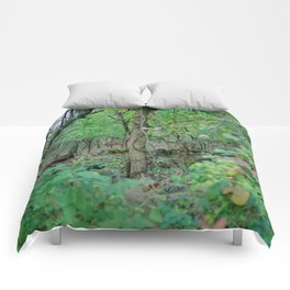 Stag in the Woods Comforters
