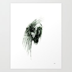 Most evil femme demon Art Print
