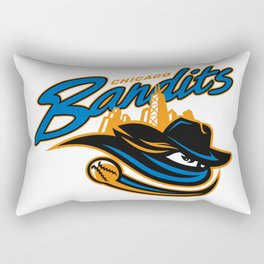 Quad Cities River Bandits Rectangular Pillow