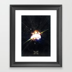 Sonik is Back (Explosion) Framed Art Print