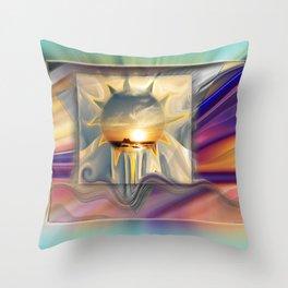 Sunset Carnival Throw Pillow