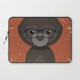 Hipster Bear Laptop Sleeve