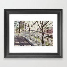 the bridge:: nyc Framed Art Print