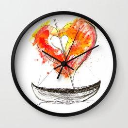 love boat Wall Clock