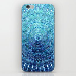 Frozen Oval Mandala iPhone Skin