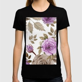 FLOWERS WATERCOLOR 9 T-shirt
