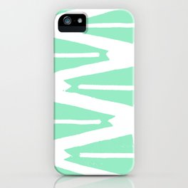Green Tribal iPhone Case