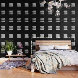 Stripes - No Comment #2 #minimal #painting #decor #art #society6 Wallpaper