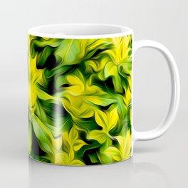 Painted Foliage Coffee Mug