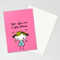 Girl Boner Stationery Cards