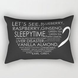 Tea from Scott Pilgrim & Ramona Flowers Rectangular Pillow