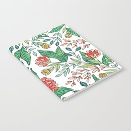 Wildflower Pattern - Full Color Notebook