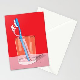 Toothbrush Tango Stationery Cards