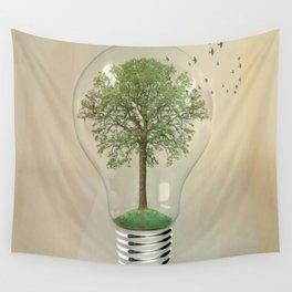 green ideas Wall Tapestry
