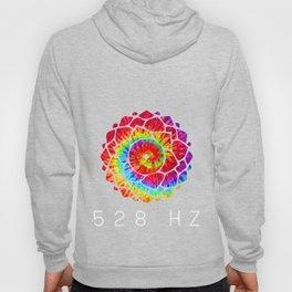 528 Hertz Love Repair Frequency  Hoody