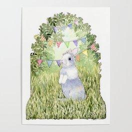 Bunny's Birthday Poster