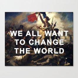Liberty Leading the Revolution Canvas Print