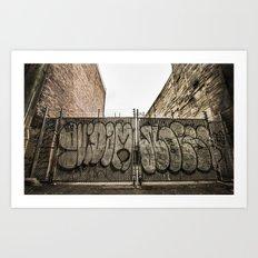 Urban 2 Art Print