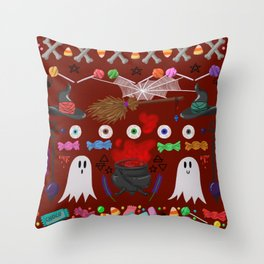 This is Halloween #3 Throw Pillow