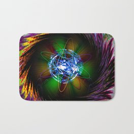 Creations in the color spectrum of the rainbow 1 Bath Mat