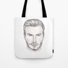 David Beckham Tote Bag