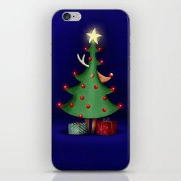 Rudolph the reindeer iPhone Skin