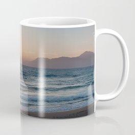 Komos Beach Panorama Coffee Mug