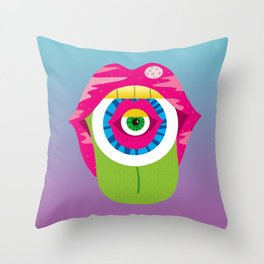 whistleburg - watch your mouth Throw Pillow