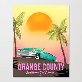 orange county California USA Canvas Print