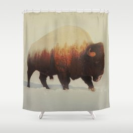 Bison (V3 Series) Shower Curtain
