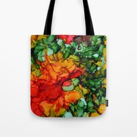 marley Tote Bags featuring Marley by Claire Day