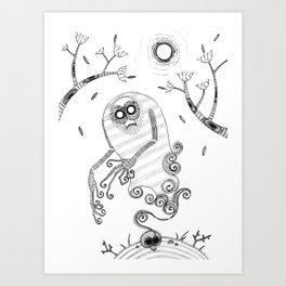 Ghoul Art Print