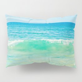 Ocean Blue Beach Dreams Pillow Sham