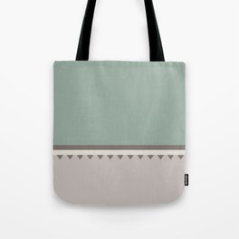 Jagged 5 Tote Bag