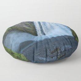 Skogafoss Floor Pillow