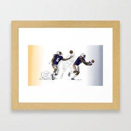 "2013 AU vs. UGA ""Immaculate Deflection"" Framed Art Print"