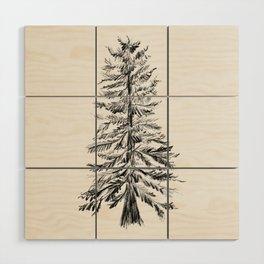 Cedar Tree Wood Wall Art