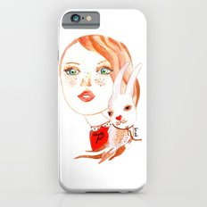 Real Beauty is without Cruelty iPhone 6 Slim Case