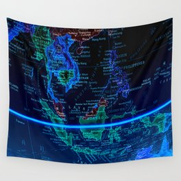 Southeast Asia Wall Tapestry
