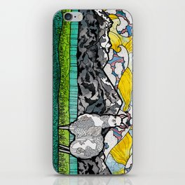 Llama and Andes iPhone Skin