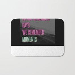 Remember moments Bath Mat