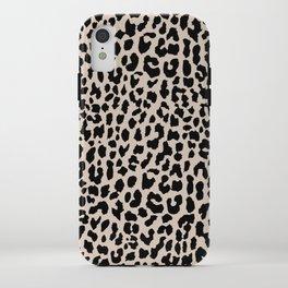 Tan Leopard iPhone Case