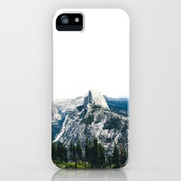 Overlooking Yosemite iPhone Case