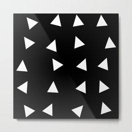 Triangle pattern B1 Metal Print