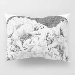 Follow the bear Pillow Sham